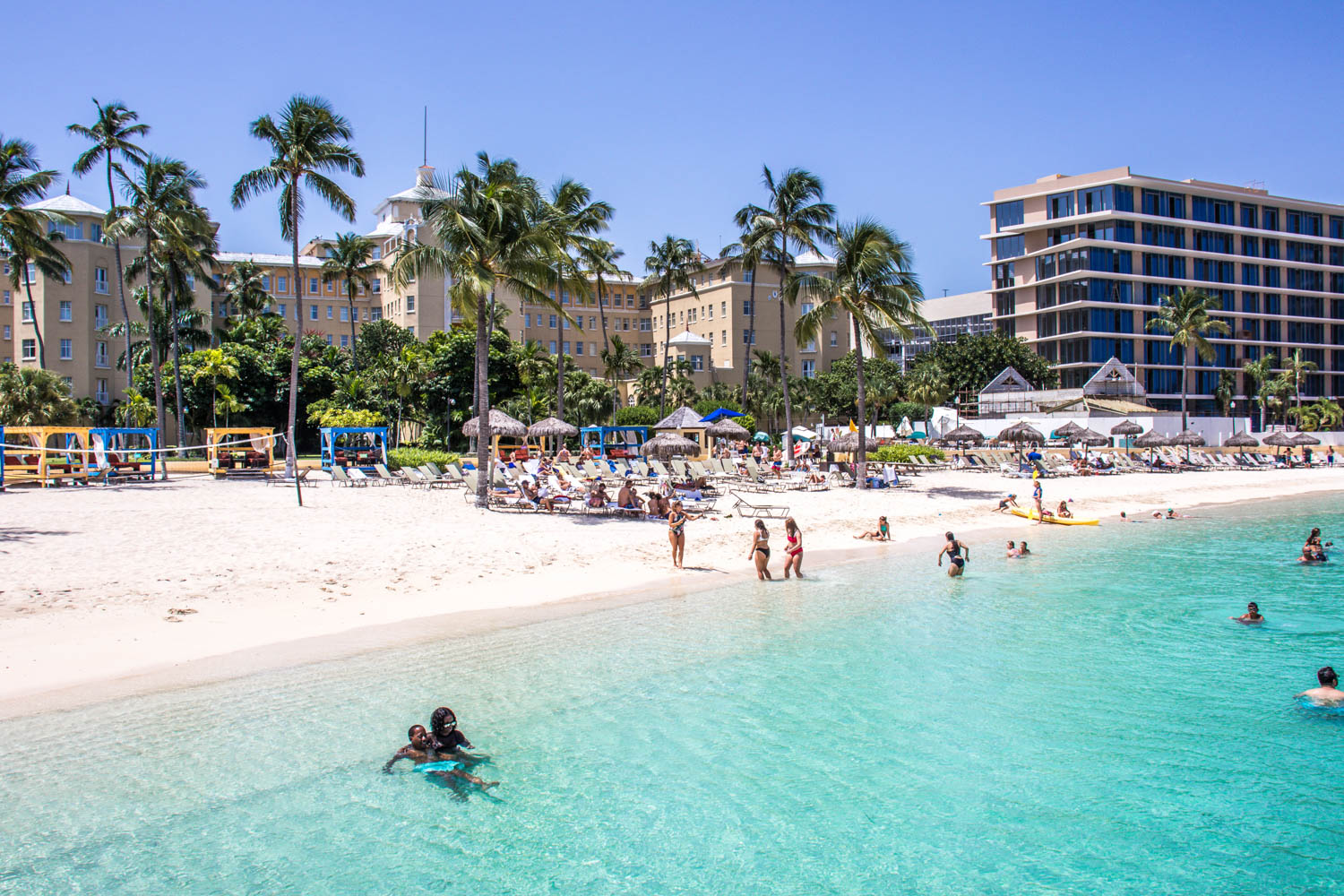 No matter where you are, beautiful beaches will always give you things to do in Nasau on a cruise. There are other things to do in Nassau Bahamas too and places to visit in Bahamas.